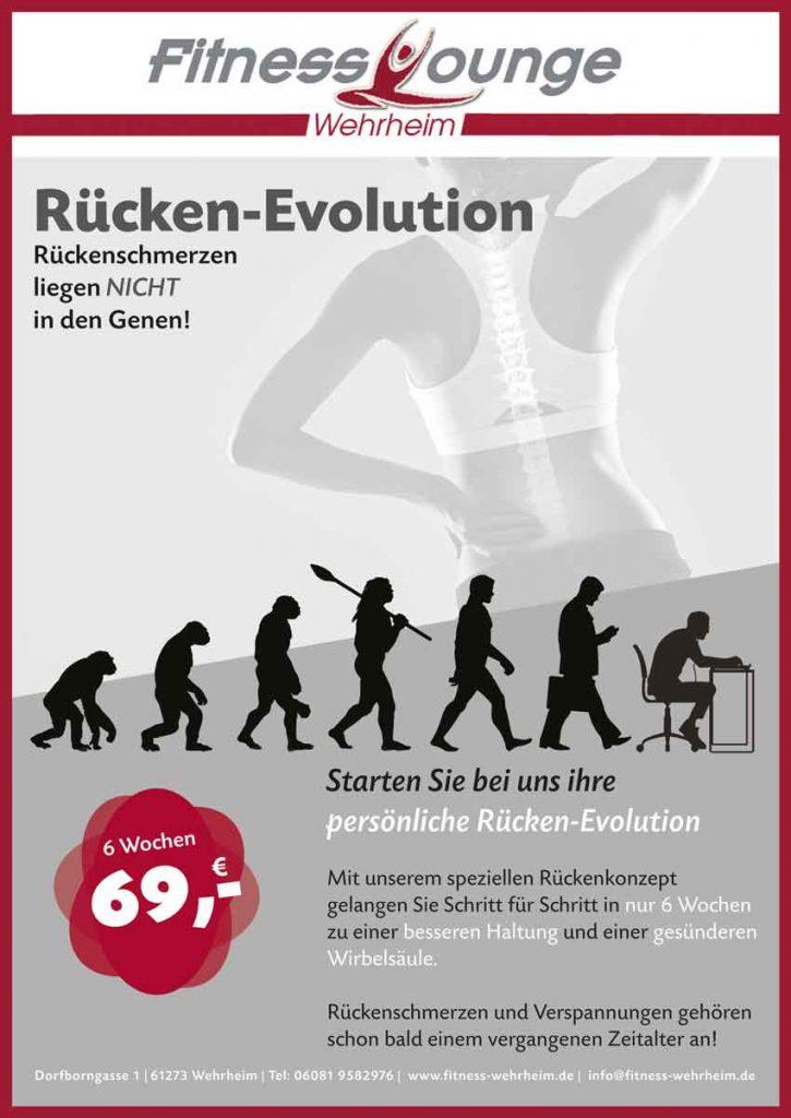 Rückenrevolution in der Fitness Lounge